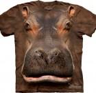 Wild Hippo 3D T-shirt